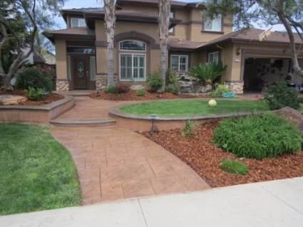an image of a resurfacing concrete project in rocklin, ca
