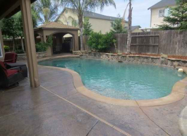 This is an image of pool deck contractor in rocklin, california