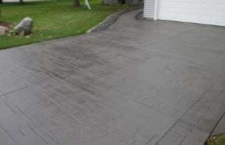This is an image of stamped concrete pathway in rocklin, california