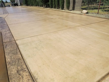 This is an image of concrete driveway Roseville