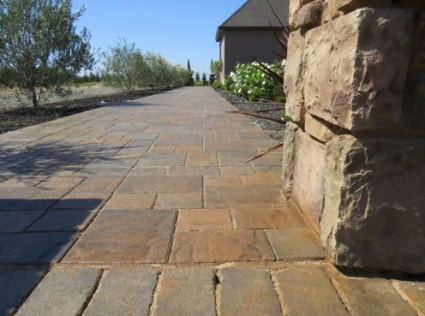 this is an image of concrete driveway resurfacing in rocklin, ca
