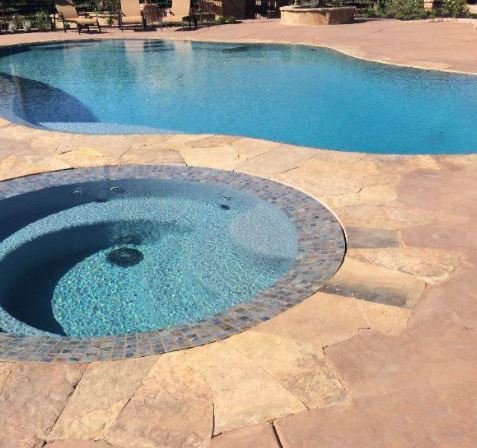 image of pool deck, stone, flagstone, fair oaks, ca