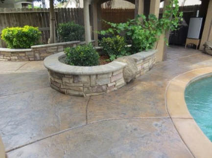 this is an image of concrete contractor rocklin california