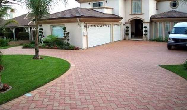 This is an image of rocklin california aggregate patio