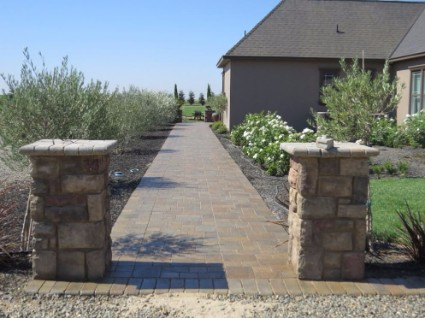 image of redone patio installed in rancho cordova, ca